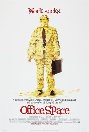 Office Space - Advance movie poster (thumbnail)