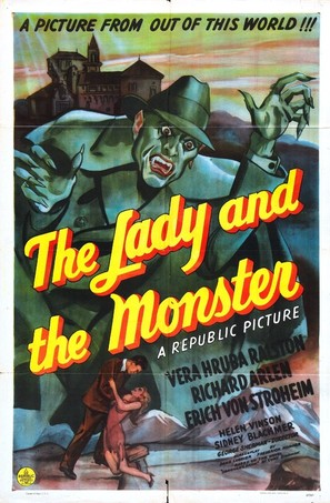 The Lady and the Monster - Movie Poster (thumbnail)
