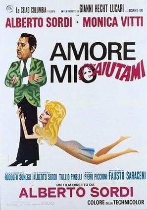 Amore mio aiutami - Italian Movie Poster (thumbnail)
