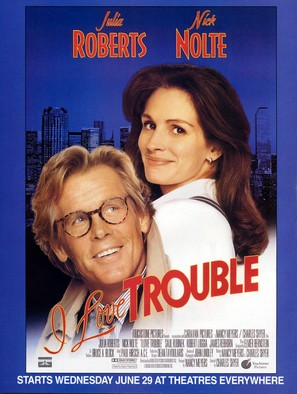I Love Trouble - Movie Poster (thumbnail)