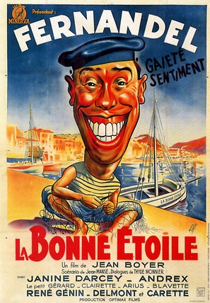 Bonne ètoile, La - French Movie Poster (thumbnail)