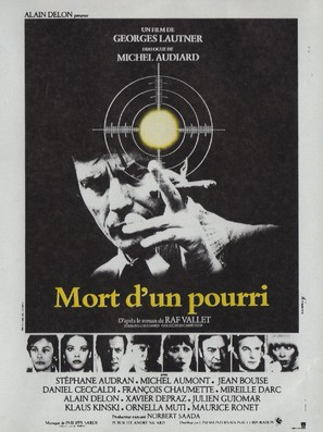 Mort d'un pourri - French Movie Poster (thumbnail)