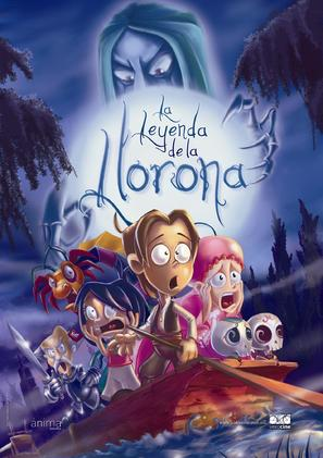La leyenda de la llorona - Mexican Movie Poster (thumbnail)