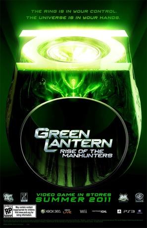 Green Lantern: Rise of the Manhunters - Movie Poster (thumbnail)