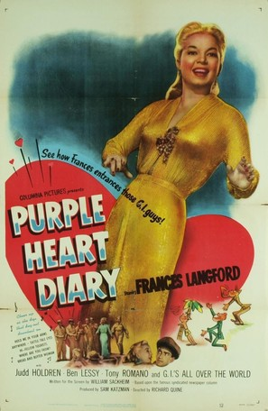 Purple Heart Diary - Movie Poster (thumbnail)