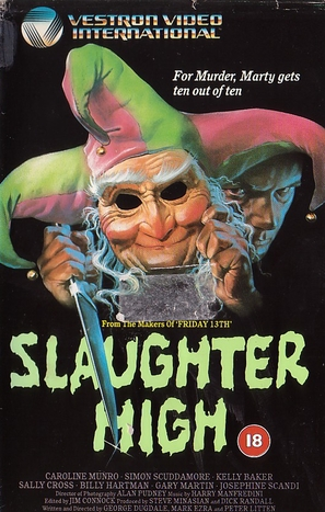 Slaughter High - VHS cover (thumbnail)