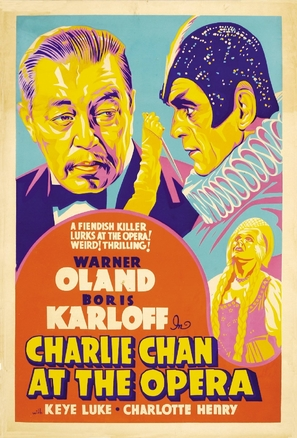 Charlie Chan at the Opera - Movie Poster (thumbnail)