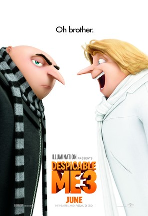 Despicable Me 3 - Movie Poster (thumbnail)