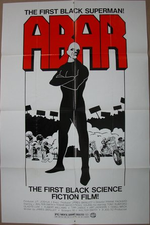 Abar, the First Black Superman - Movie Poster (thumbnail)