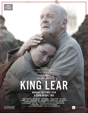King Lear - British Movie Poster (thumbnail)