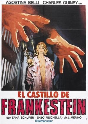 Il castello dalle porte di fuoco - Spanish Movie Poster (thumbnail)
