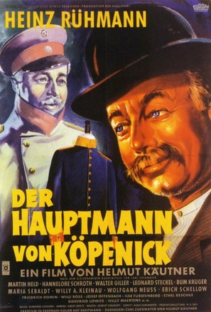Hauptmann von Köpenick, Der - German Movie Poster (thumbnail)