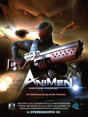 AniMen: Triton Force - Movie Poster (thumbnail)