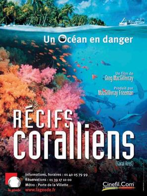 Coral Reef Adventure - French Movie Poster (thumbnail)