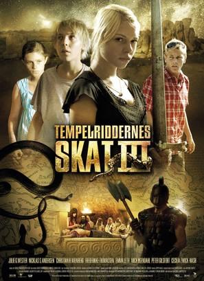 Tempelriddernes skat III - Danish poster (thumbnail)