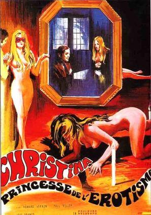 Christina, princesse de l'èrotisme - French Movie Poster (thumbnail)