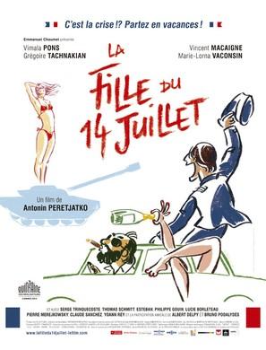 La fille du 14 juillet - French Movie Poster (thumbnail)