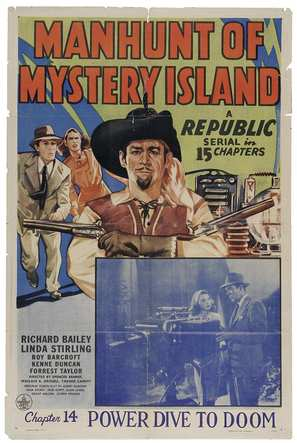Manhunt of Mystery Island - Movie Poster (thumbnail)