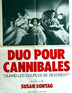 Duett för kannibaler - French Movie Poster (thumbnail)