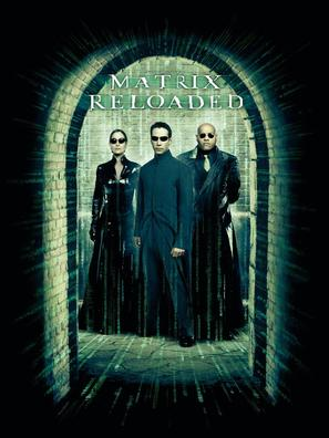 The Matrix Reloaded - DVD movie cover (thumbnail)