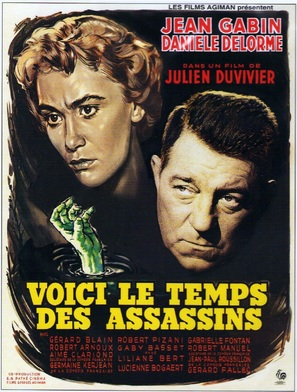 Voici le temps des assassins... - French Movie Poster (thumbnail)