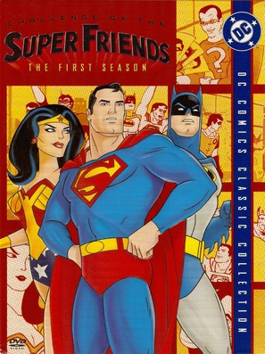 """The All-New Super Friends Hour"" - DVD movie cover (thumbnail)"