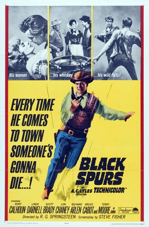 Black Spurs - Movie Poster (thumbnail)
