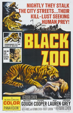 Black Zoo - Movie Poster (thumbnail)