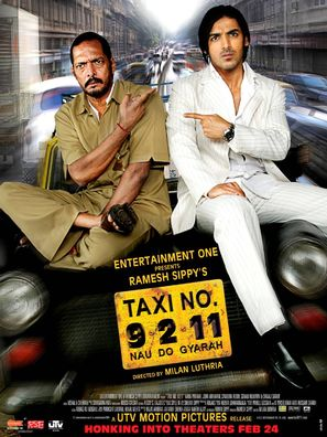 Taxi Number 9211 - Indian Movie Poster (thumbnail)