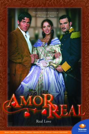 """Amor real"""" (2003) tv posters"""