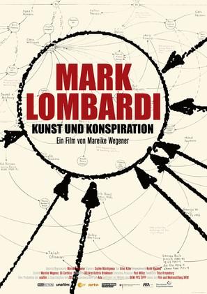 Mark Lombardi - Kunst und Konspiration - German Movie Poster (thumbnail)