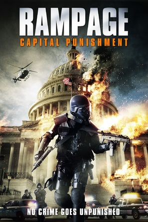 Rampage: Capital Punishment - DVD cover (thumbnail)