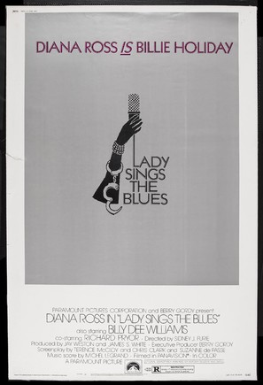 Lady Sings the Blues - Movie Poster (thumbnail)
