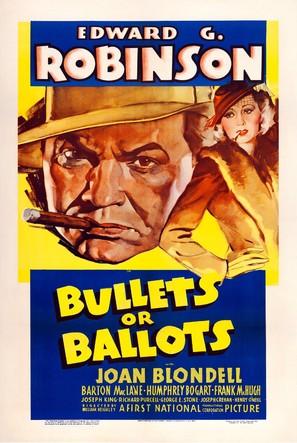 Bullets or Ballots - Movie Poster (thumbnail)