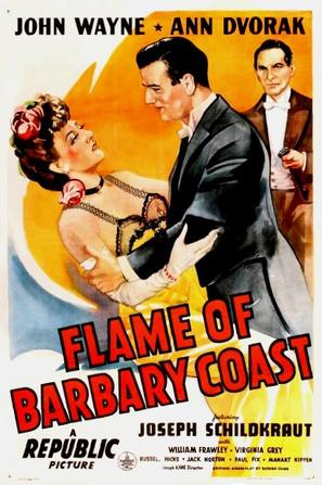 Flame of Barbary Coast - Movie Poster (thumbnail)