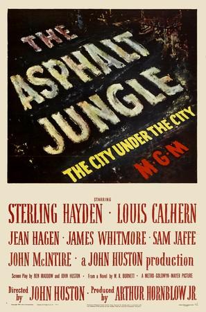 The Asphalt Jungle - Movie Poster (thumbnail)