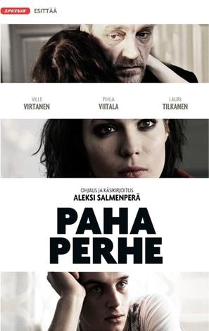 Paha perhe - Finnish Movie Poster (thumbnail)