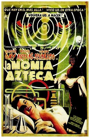 La momia azteca - Mexican Movie Poster (thumbnail)