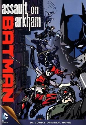 Batman: Assault on Arkham - DVD movie cover (thumbnail)