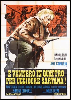 ...e vennero in quattro per uccidere Sartana!