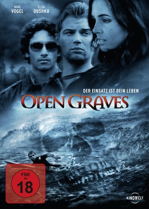 Open Graves - German Movie Cover (thumbnail)