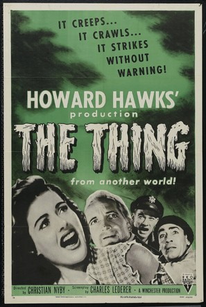 The Thing From Another World - Movie Poster (thumbnail)