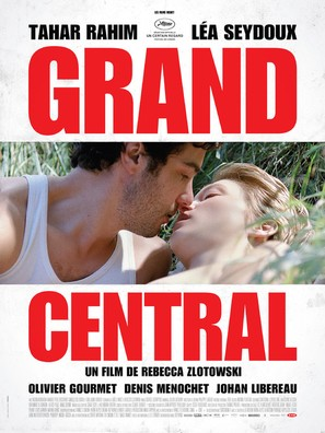Grand Central - French Movie Poster (thumbnail)