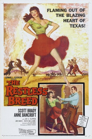The Restless Breed - Movie Poster (thumbnail)