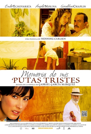 Memoria de mis putas tristes - Mexican Movie Poster (thumbnail)