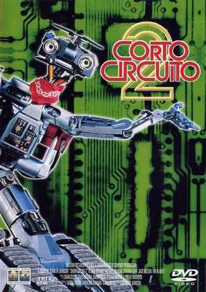 Short Circuit 2 - Spanish DVD cover (thumbnail)