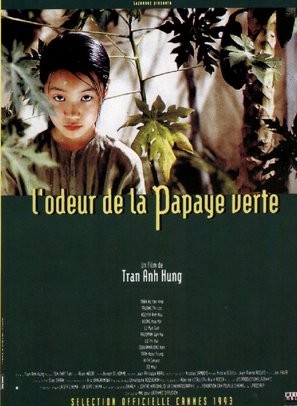 Mùi du du xhan - L'odeur de la papaye verte - French Movie Poster (thumbnail)