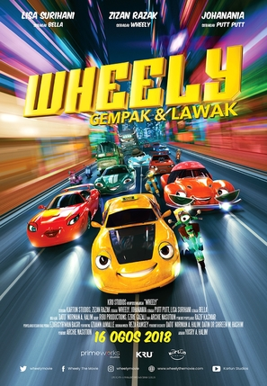 Wheely - Malaysian Movie Poster (thumbnail)