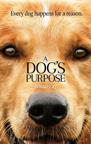 A Dog's Purpose - Movie Poster (thumbnail)