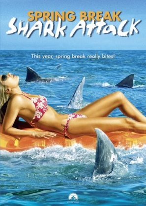 Spring Break Shark Attack - DVD cover (thumbnail)